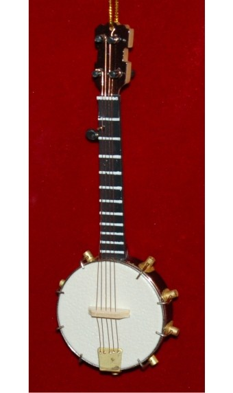 Banjo Christmas Ornament