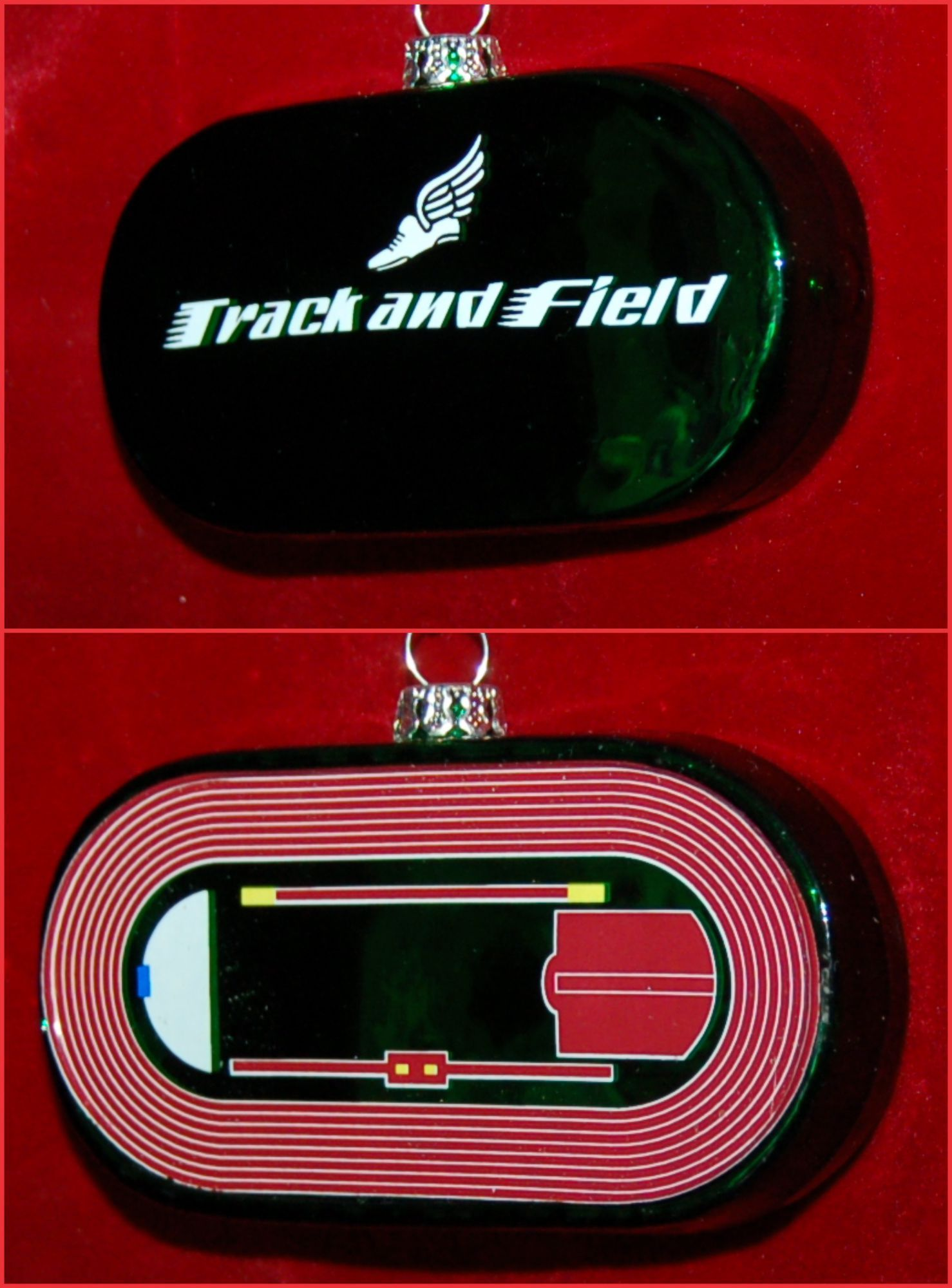 Track and Field Arena of Champions Christmas Ornament Personalized by Russell Rhodes