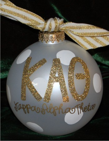Dreaming of a White Christmas - Our Family Glass Christmas Ornament