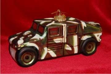 Army Humvee Christmas Ornament