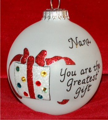 Very Special Great Grandma Ornament Personalized Christmas Gift