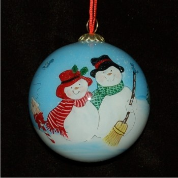 Our 10th Anniversary (or any other) Personalized Christmas Ornament