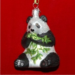 Kung Fu Panda Glass Personalized Christmas Ornament