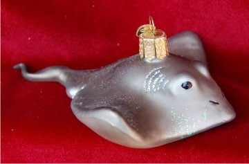 Stingray Personalized Christmas Ornament