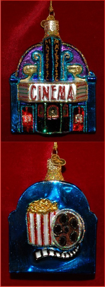 At the Movies Christmas Ornament