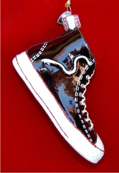 High Top Sneaker Personalized Christmas Ornament