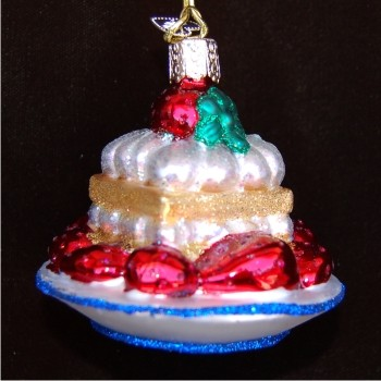 Strawberry Shortcake Personalized Christmas Ornament