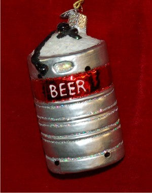 Kegger Party 21 at Last! Christmas Ornament Personalized by Russell Rhodes