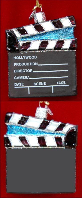 Director's Board Glass Personalized Ornament
