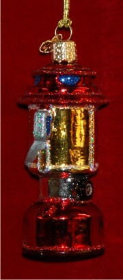 Camping Lantern Christmas Ornament