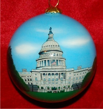United States Capitol Building Christmas Ornament