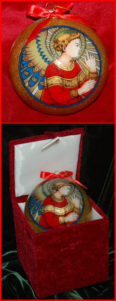 For Your Sweet Angel Christmas Ornament Personalized by Russell Rhodes