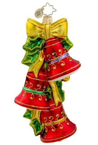 Grandkids - Ring in the Holidays Personalized Radko Ornament