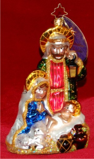 Heavenly Family Radko Ornament