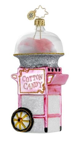 Cotton Candy Personalized Radko Ornament
