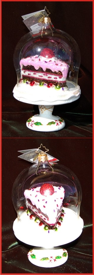 A Delicious Display Radko Christmas Ornament