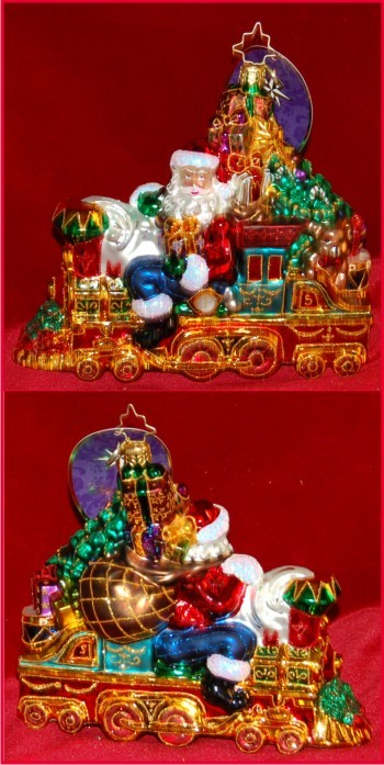 All Aboard for Christmas Radko Christmas Ornament