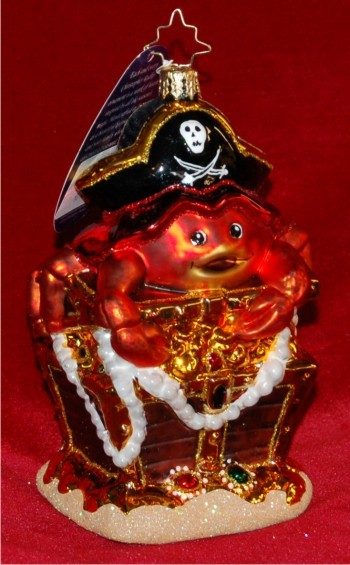 Deep Sea Bounty Radko Christmas Ornament