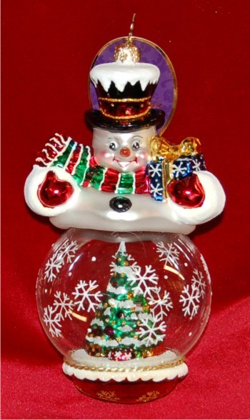 Splendid Showcase Radko Christmas Ornament
