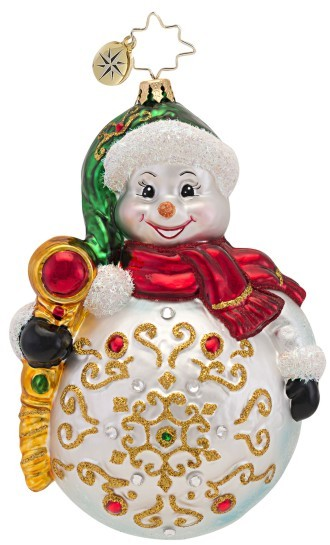 Snowy Grace Radko Ornament