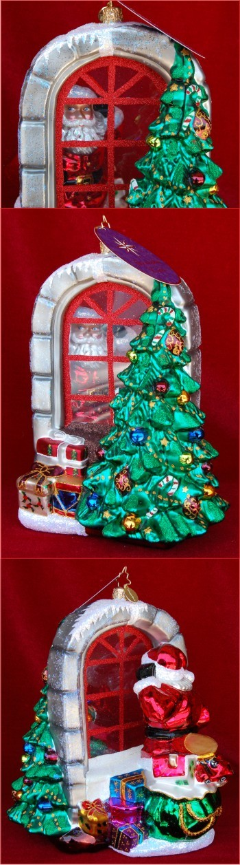 A Glimpse of Christmas Radko Limited Edition Personalized Christmas Ornament