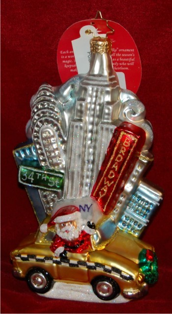 Big Apple Sights Radko Ornament