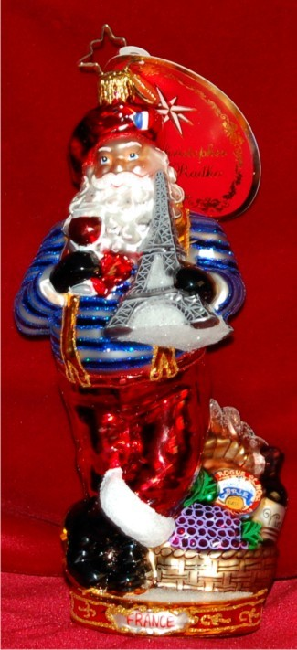 Oh La La Radko Christmas Ornament