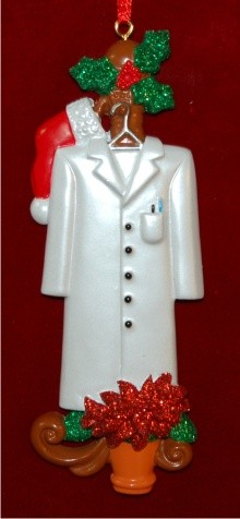 Lab Coat Personalized Christmas Ornament Personalized by Russell Rhodes