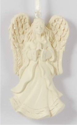 Angel Heaven's Blessings Personalized Christmas Ornament