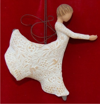 Dance of Life Angel Christmas Ornament