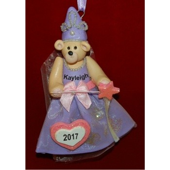 Princess Personalized Christmas Ornament