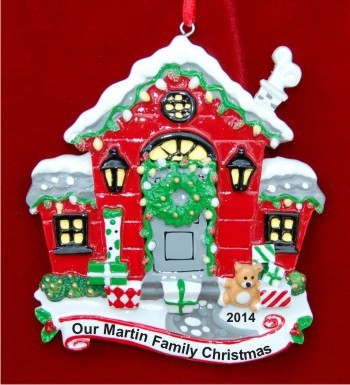 Holiday Home Sweet Home Christmas Ornament