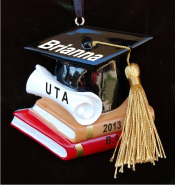 Legal Diploma Christmas Ornament Personalized