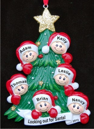 Family Christmas Ornaments Personalized