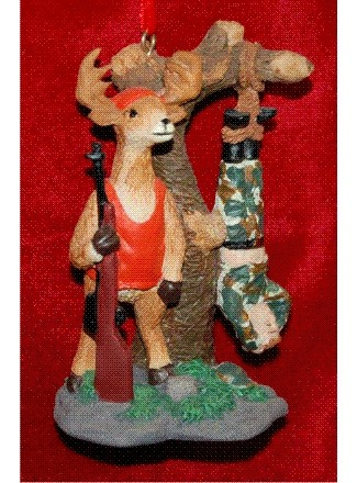 Dat Deer Done Got the Best of Me, Deer Hunting Personalized Christmas Ornament