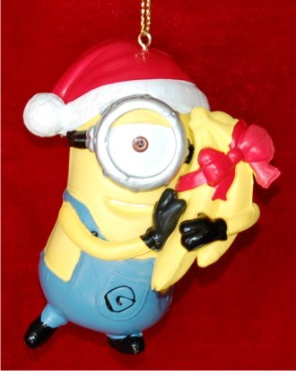 Despicable Me One-Eyed Carl Christmas Ornament
