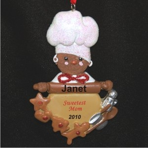 Much Loved Mom Christmas Ornament Personalized by Russell Rhodes