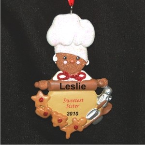 Much Loved Sister Personalized Christmas Ornament
