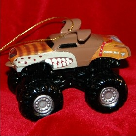 Monster Mutt Monster Jam Truck Personalized Christmas Ornament