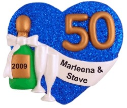 50th Anniversary Christmas Ornament