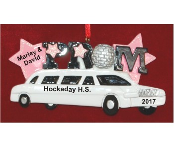 Off to Prom Christmas Ornament Personalized by Russell Rhodes