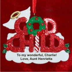 Godchild Christmas Ornament
