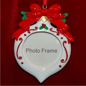 Christmas Ornament-styled Photo Frame Personalized Christmas Ornament