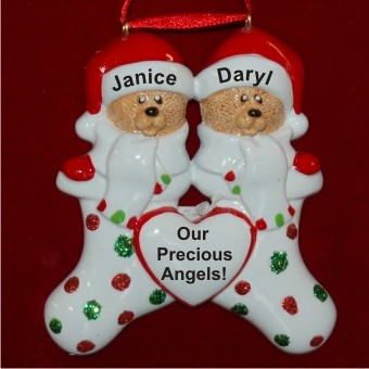 Our 2 Grandchildren Christmas Ornament