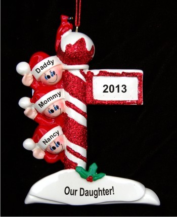 Christmas Joy: Our New Daughter Christmas Ornament
