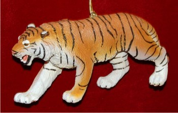 Bengal Tiger Christmas Ornament