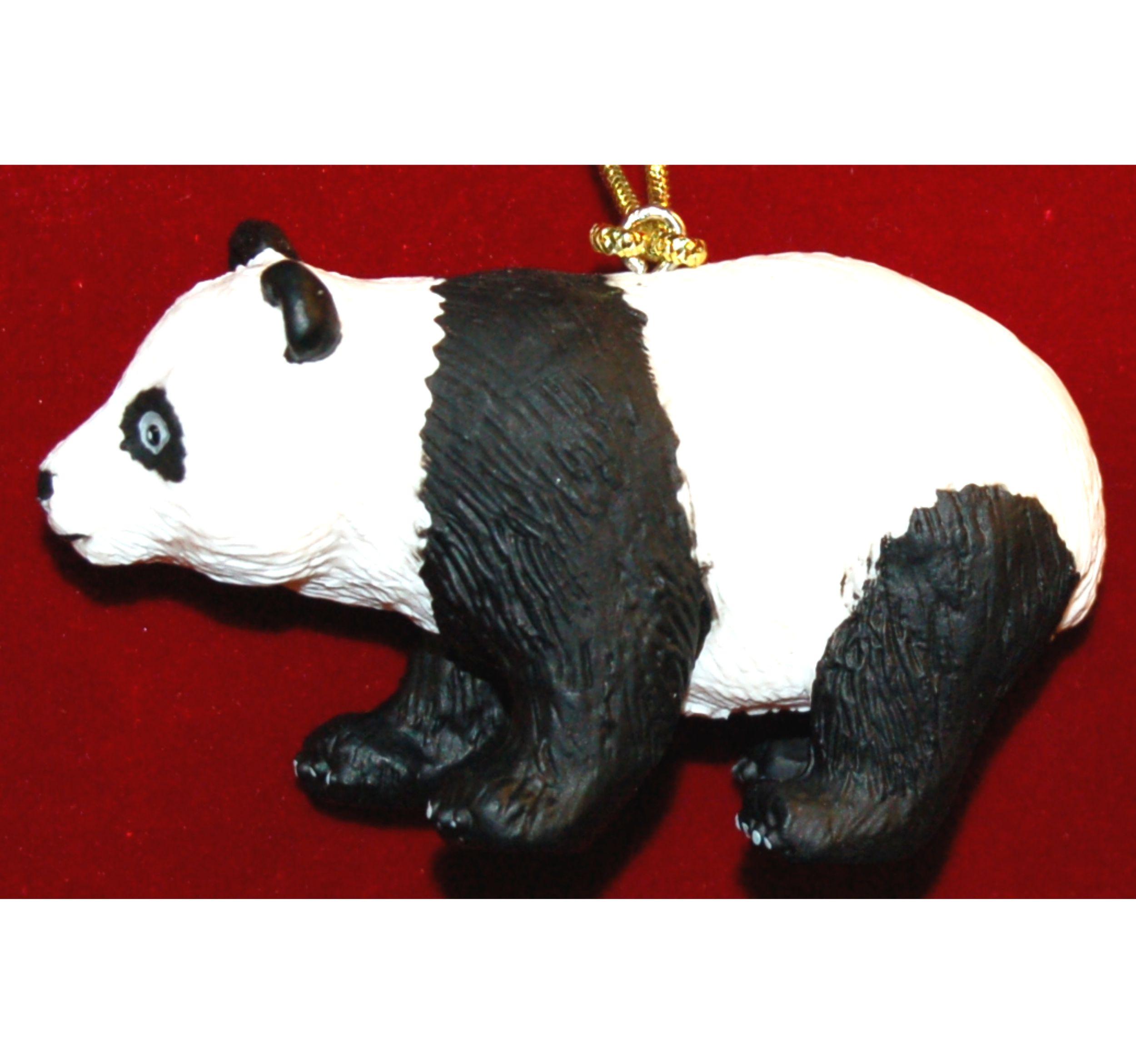 Panda Cub Christmas Ornament by Russell Rhodes