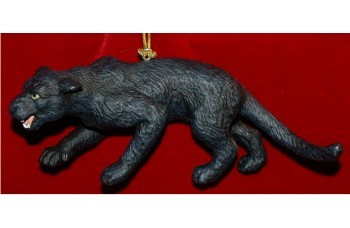 Black Panther Christmas Ornament