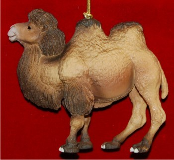 Bactrian Camel Christmas Ornament