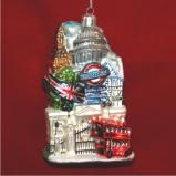 Historic London Christmas Ornament Personalized by Russell Rhodes